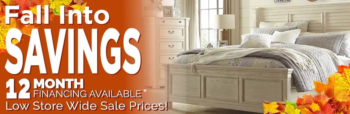 Fall into Savings Bedroom Furniture Sale