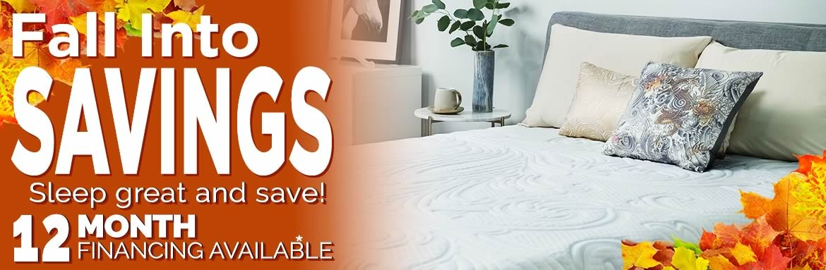Fall into Savings Mattress Sale